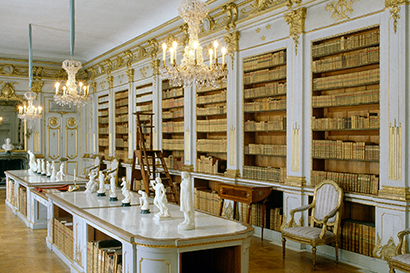 Queen Lovisa Ulrika Drottningholm Palace library